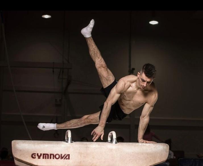 Max Whitlock, British artistic gymnast