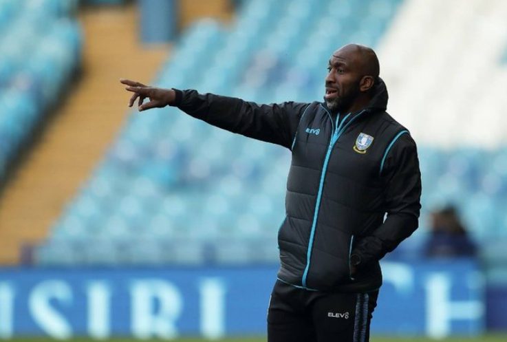 Darren Moore, Manager of the League One club, Sheffield Wednesday