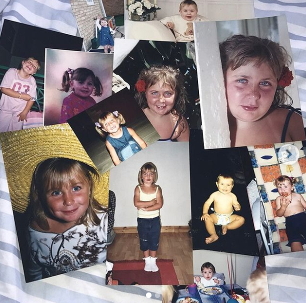 Clair Norris Childhood Picutre Collection