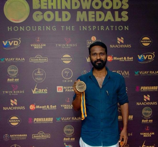 Vetrimaaran wins the Best Director Award for 'Asuran'