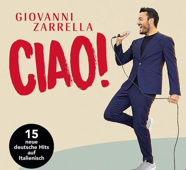 Giovanni Zarrella 2021 album 'Ciao!'