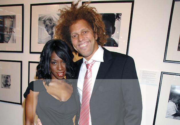Heather Small and her husband, David Neita