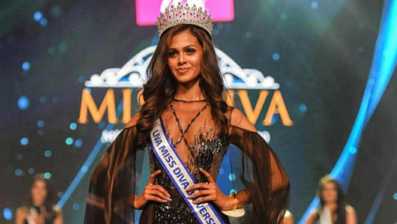 inner of Miss Diva 2020, Adline Castelino