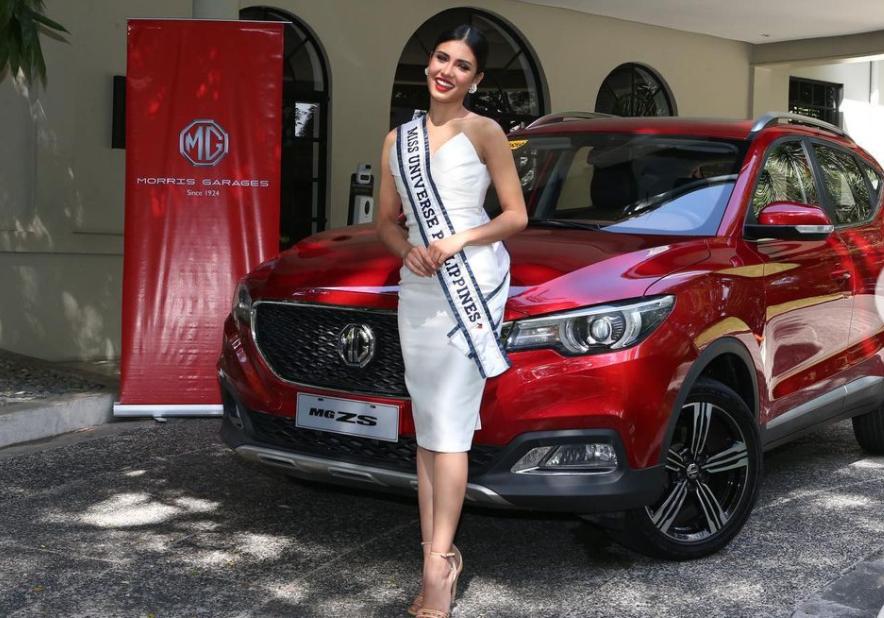 Rabiya Mateo was awarded a brand new MG ZS Alpha SUV