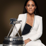 Alex Scott received Personality of the year Award 2020