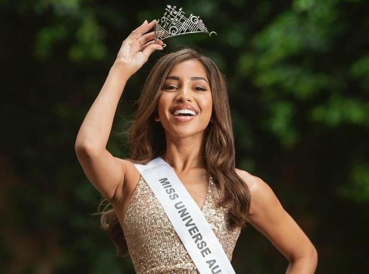 Maria Thattil, Miss Universe Australia in 2020