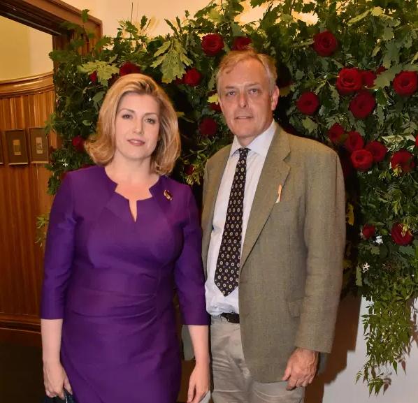 Penny Mordaunt and her long-term partner Ian Lyon