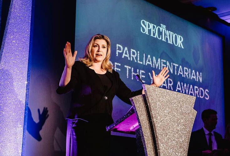 Penny Mordaunt, the first-ever female Defence Secretary (on 1 May 2019)