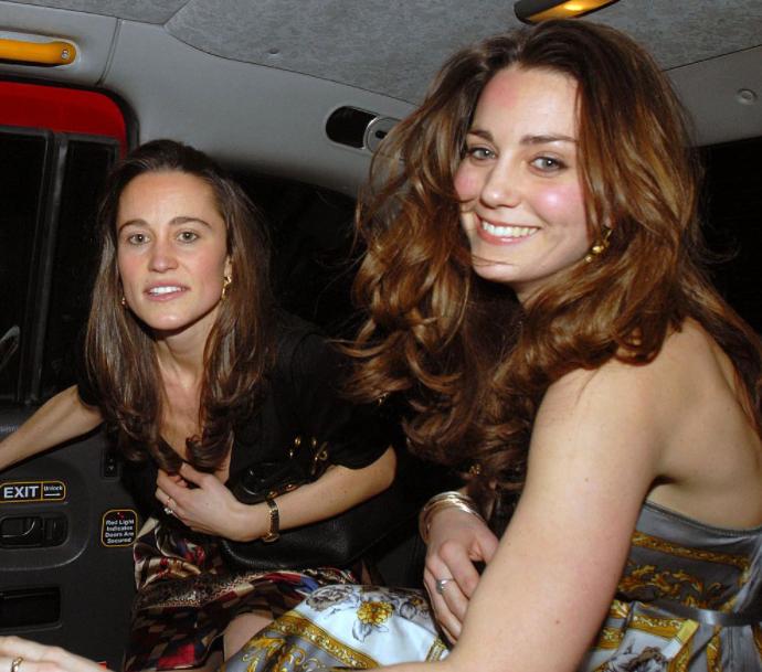 Pippa Middleton and her sister, Kate Middleton