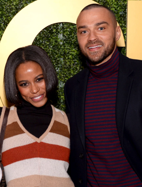 Jesse Williams and his new girlfriend, Taylor Paige