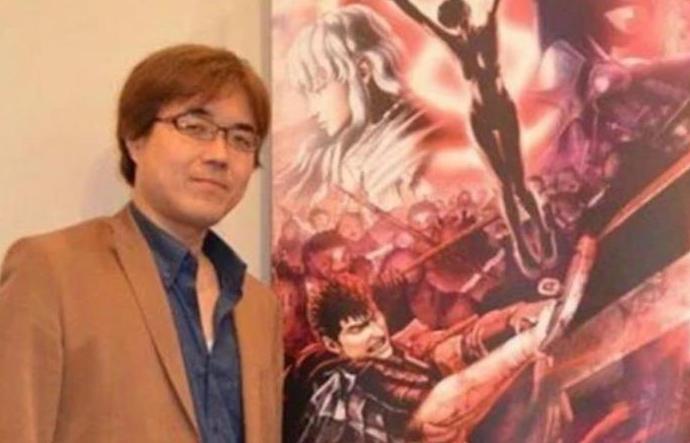 Kentaro Miura, a Japanese manga artist