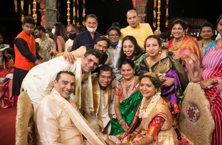 Ram Veerapaneni and Sunitha Upadrashta Marriage Picture