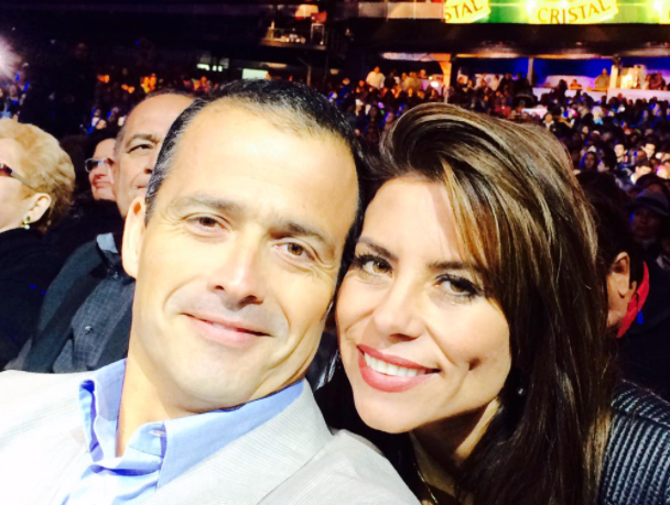 Ivan Nunez and his beautiful girlfriend