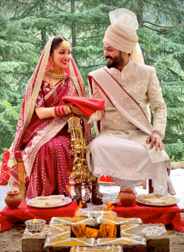 Aditya Dhar and Yami Gautam Wedding