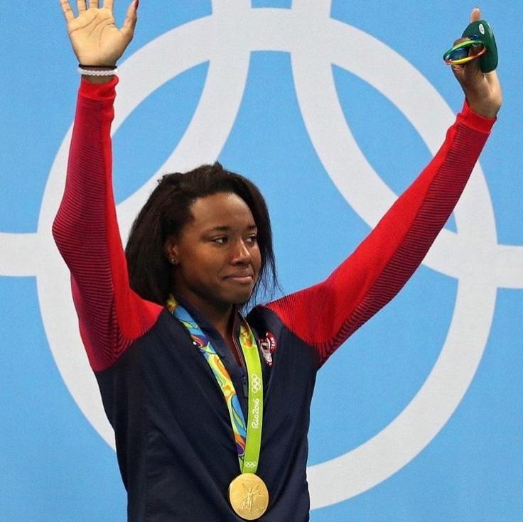Simone Manuel Gold Medals