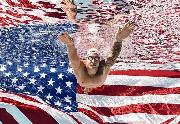 American Freestyle Swimmer Caeleb Dressel