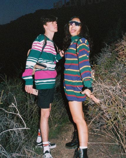 Nick Austin With His Girlfriend Avani Gregg