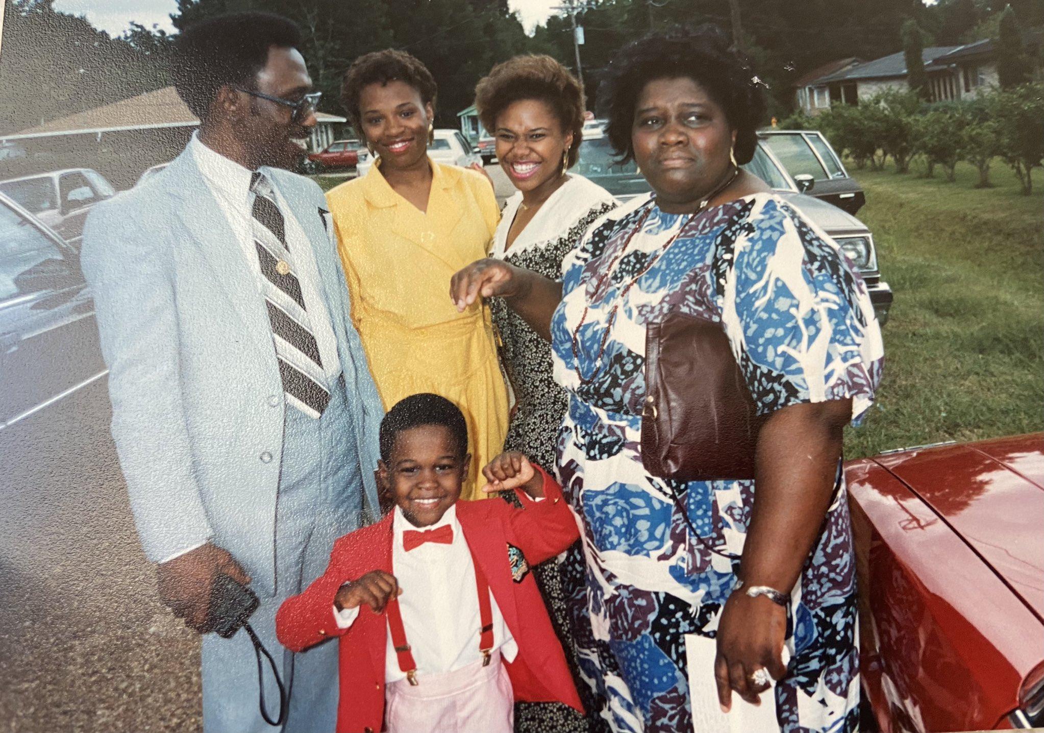 Natalie Desselle-Reid family