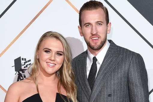 Harry Kane With His Wife Katie Goodland