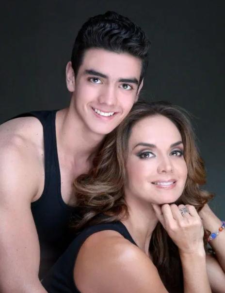 Lupita Jones and her son