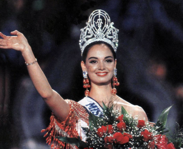 Lupita Jones 'Miss Universe 1991'