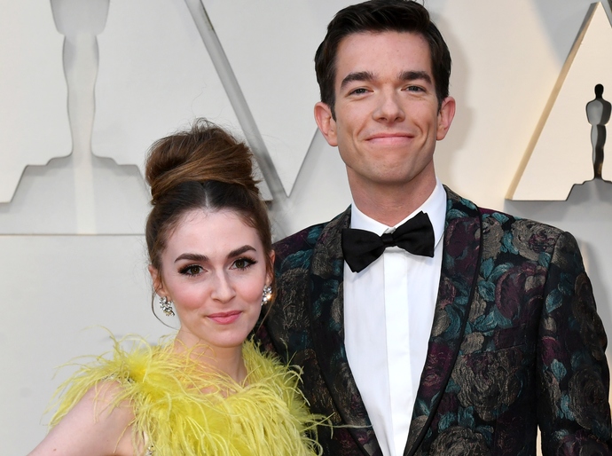 John Mulaney and his wife, Annamarie Tendler