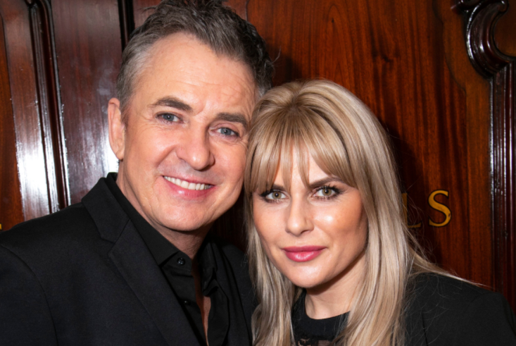 Shane Richie with his wife, Christie