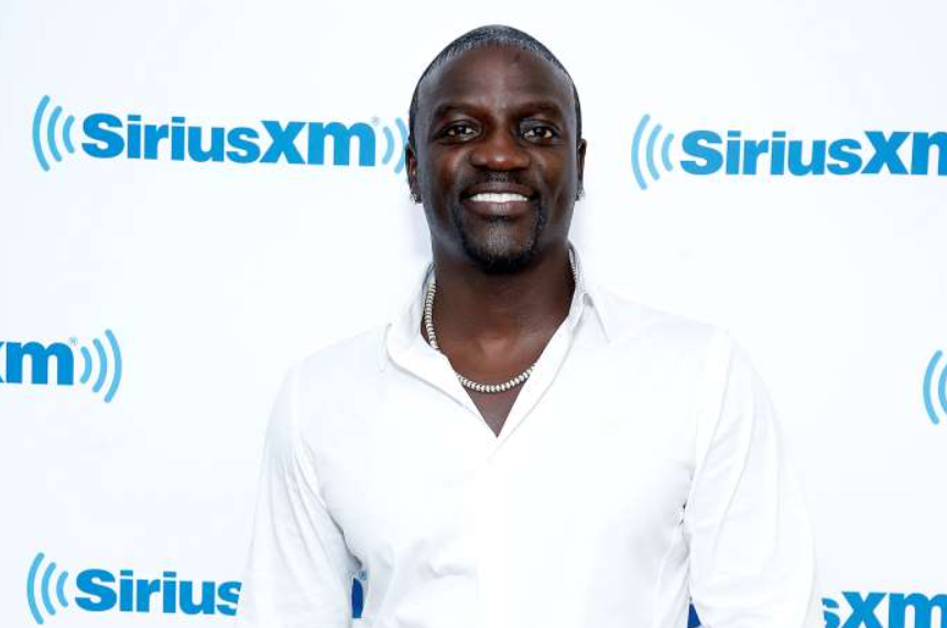 Akon, a famous singer