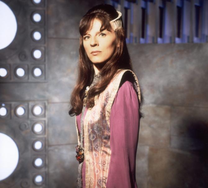 Mira Furlan, a famous actress