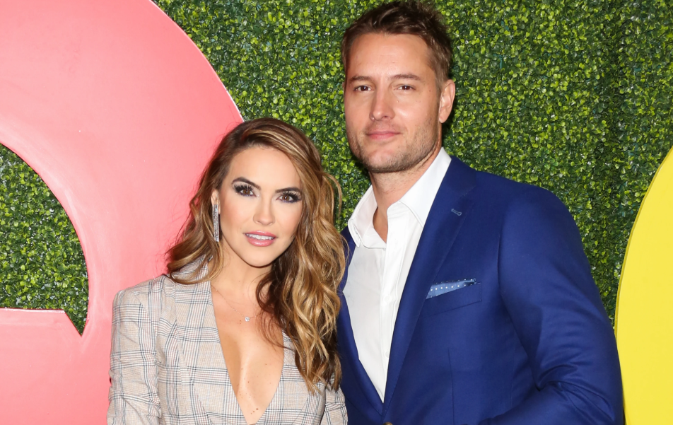 Chrishell Stause with her ex-husband, Justin Hartley