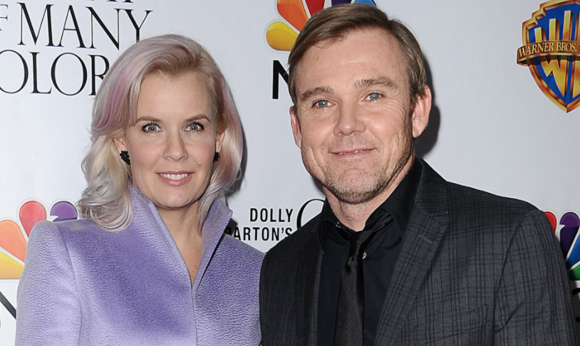 Ricky Schroder and his wife, Andrea Bernard Split