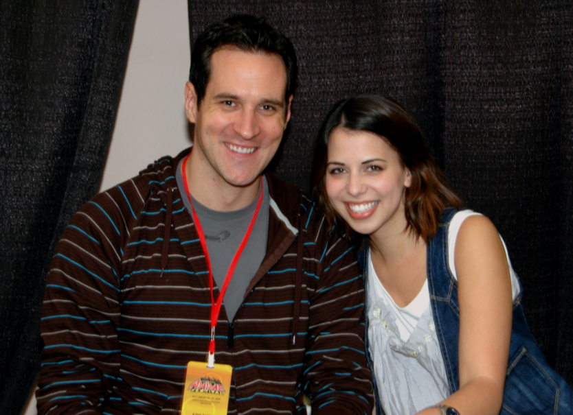 Travis Willingham and his wife, Laura Bailey