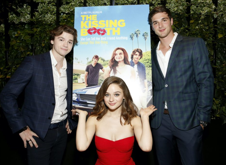 Joel Courtney, Joey King, and Jacob Elordi
