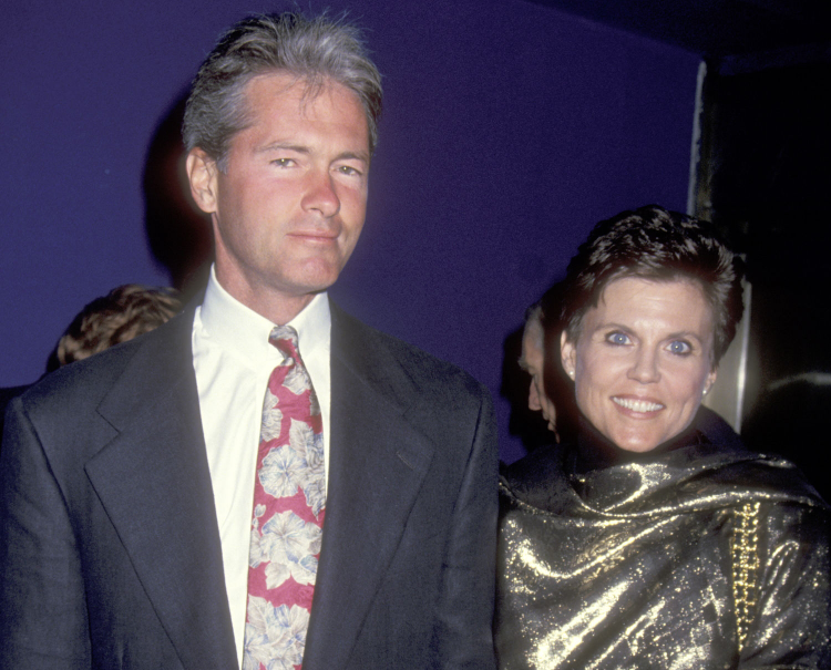 Ann Reinking and her fourth husband, Pater Talbert