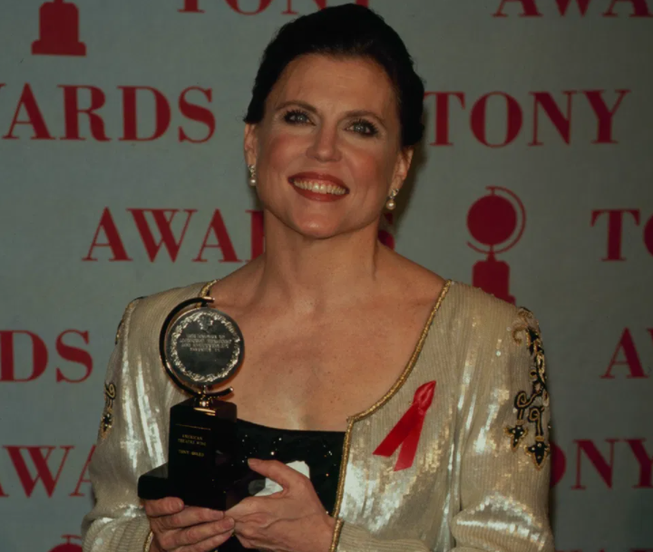 Ann Reinking with Tony Award