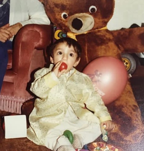 Riz Ahmed Childhood Picture