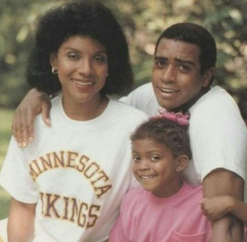 Phylicia & Ahmad and their daughter Condola