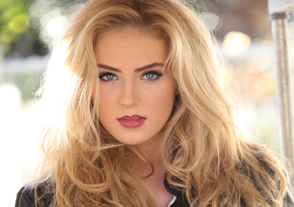 Saxon Sharbino, a famous actress