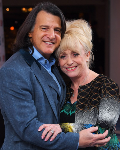 Barbara Windsor with her third husband, Scott Mitchell