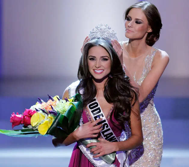 Olivia Culpo Was Being Crowned