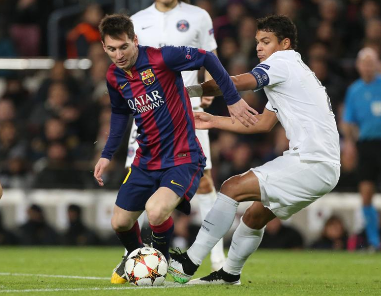 Thiago Silva Against The Opponent