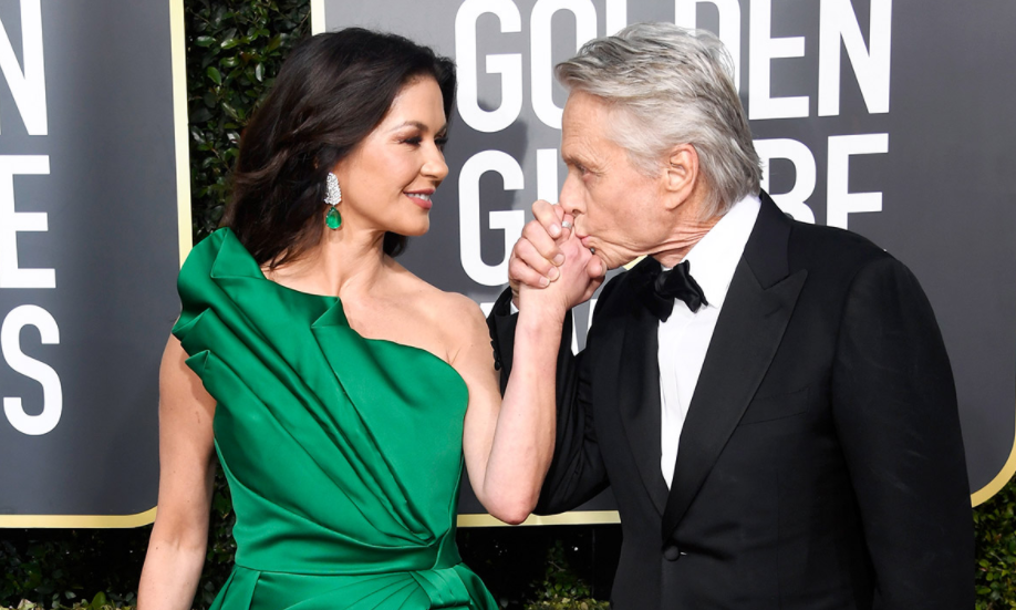 Catherine Zeta-Jones and her husband, Michael Douglas