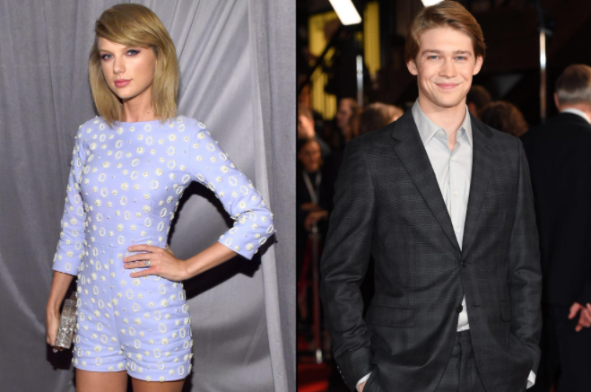 Taylor Swift and his boyfriend, Joe Alwyn