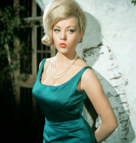 Margaret Nolan, a famous actress