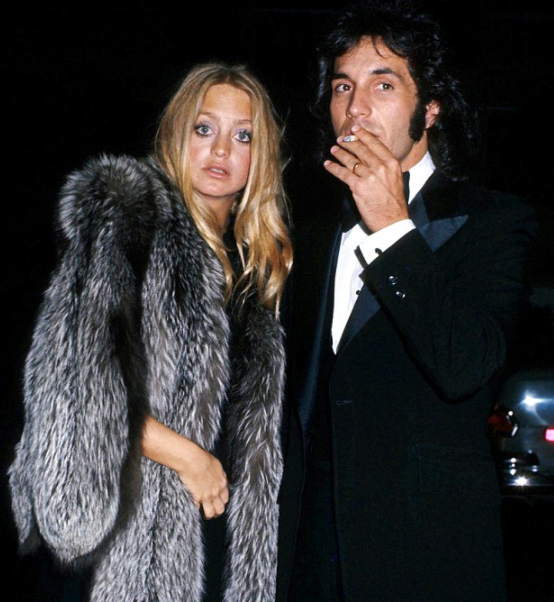 Bill Hudson and his ex-wife, Goldie Hawn